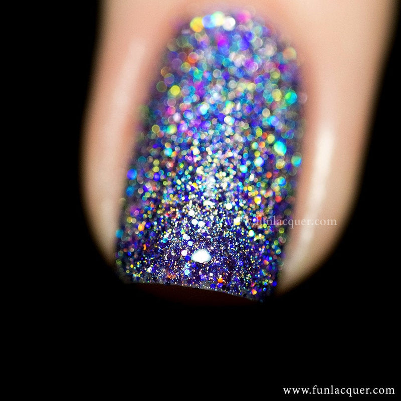 Galaxy (H) Holographic Glitter Polish