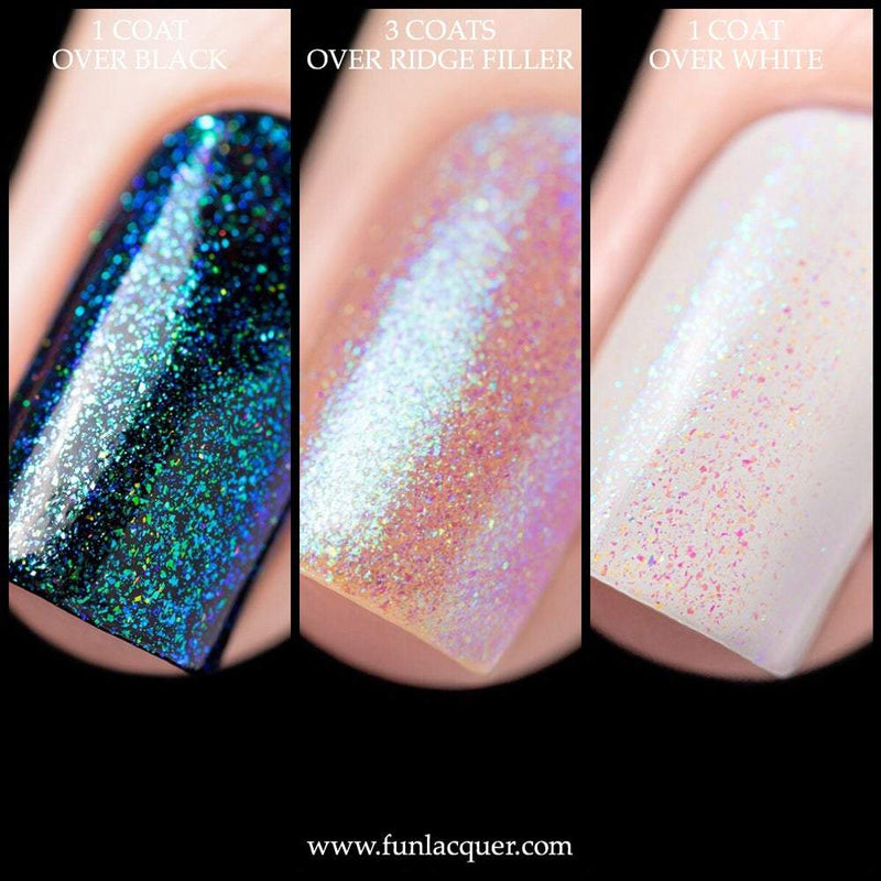 Heaven On Earth Best Blue Color Shifting Unicorn Top Coat