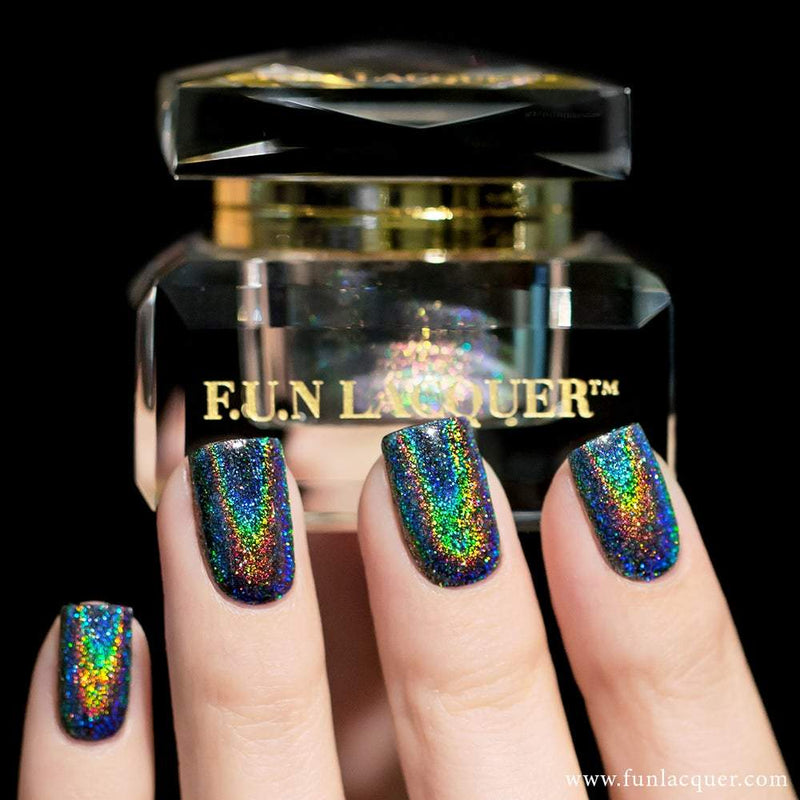 Holo CEO Holographic Powder for Holo Chrome Nails