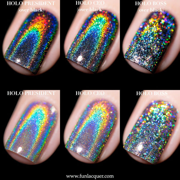 Holo Headquarters Collection Holographic Chrome Nails Kit