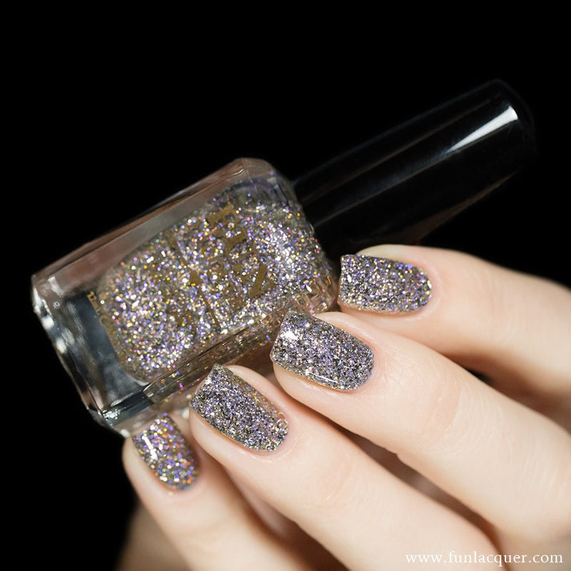 King Chrome Holo Glitter Nail Polish