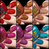 Valentine's 2020 Collection Holographic Glitters 2