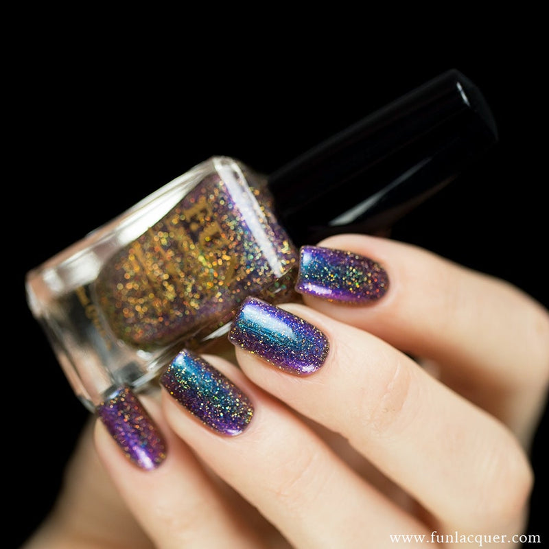 Fun Lacquer Eternal Love H Holographic Multi-chrome 3