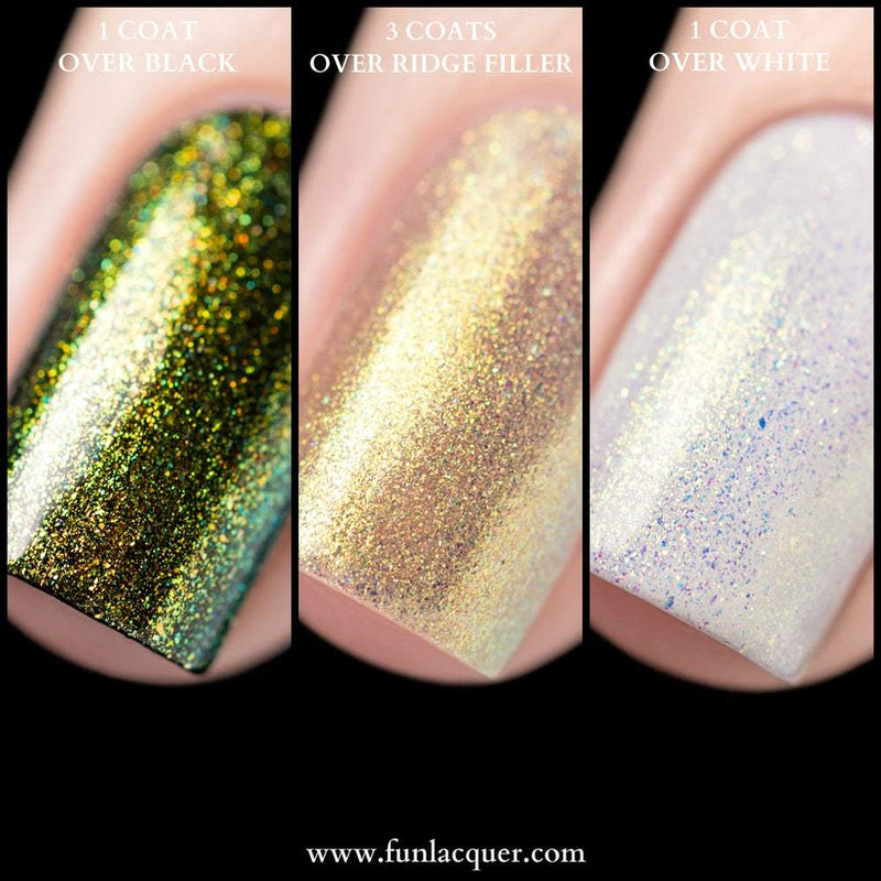 Mirage Yellow Gold Color Shifting Unicorn Top Coat