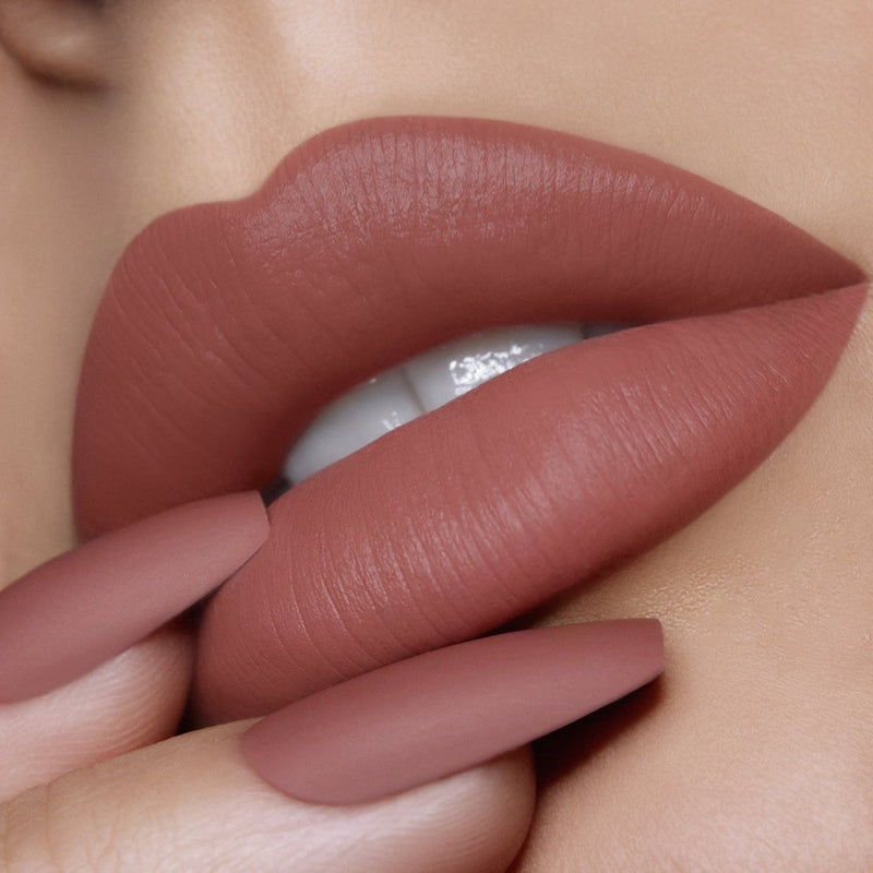 Naked 287 Velvet Matte Nude Lip and Nail