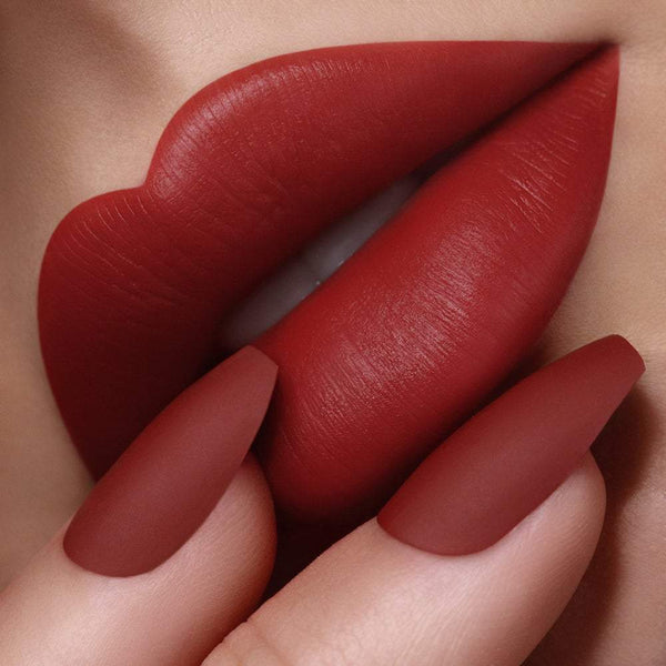 Passion 461 Blood Red Velvet Matte Lipstick