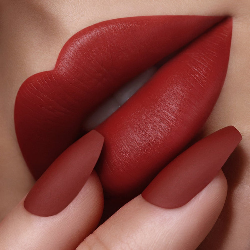 Passion 461 Red Velvet Matte Lip and Nail
