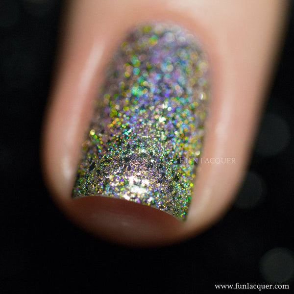 Pay Day (H) Mirror Chrome Holographic Polish