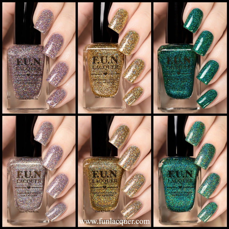F.U.N Lacquer 1st Anniversary Collection Glitter Polish