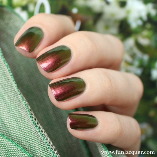 Fun Lacquer Poinsettia Multi-Chrome Nail Polish 1