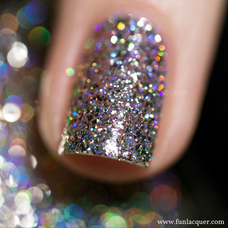 King Chrome Holographic Nail Polish