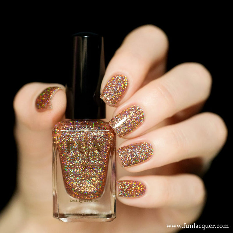 Royal Chapel Holographic Glitter Nail Polish