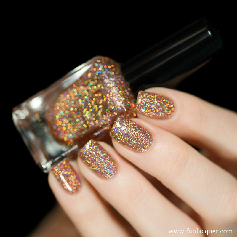Royal Chapel Holo Glitter Nail Polish