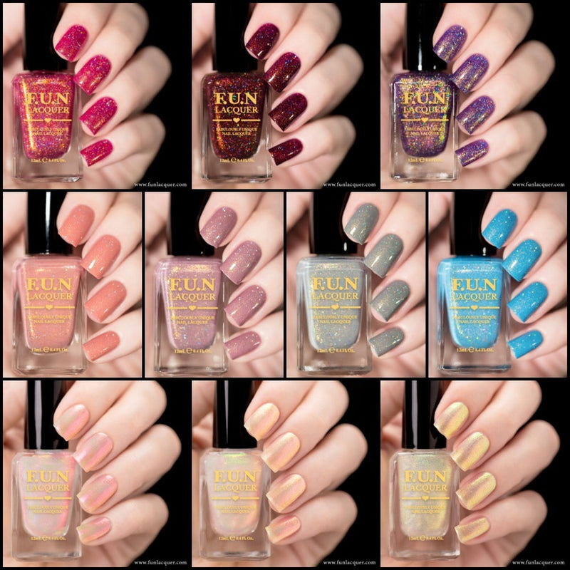 Spring/Summer 2018 Holo Nail Polish Collection