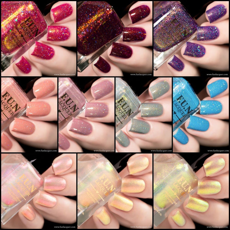 Spring/Summer 2018 Holo Nail Polish Collection 3