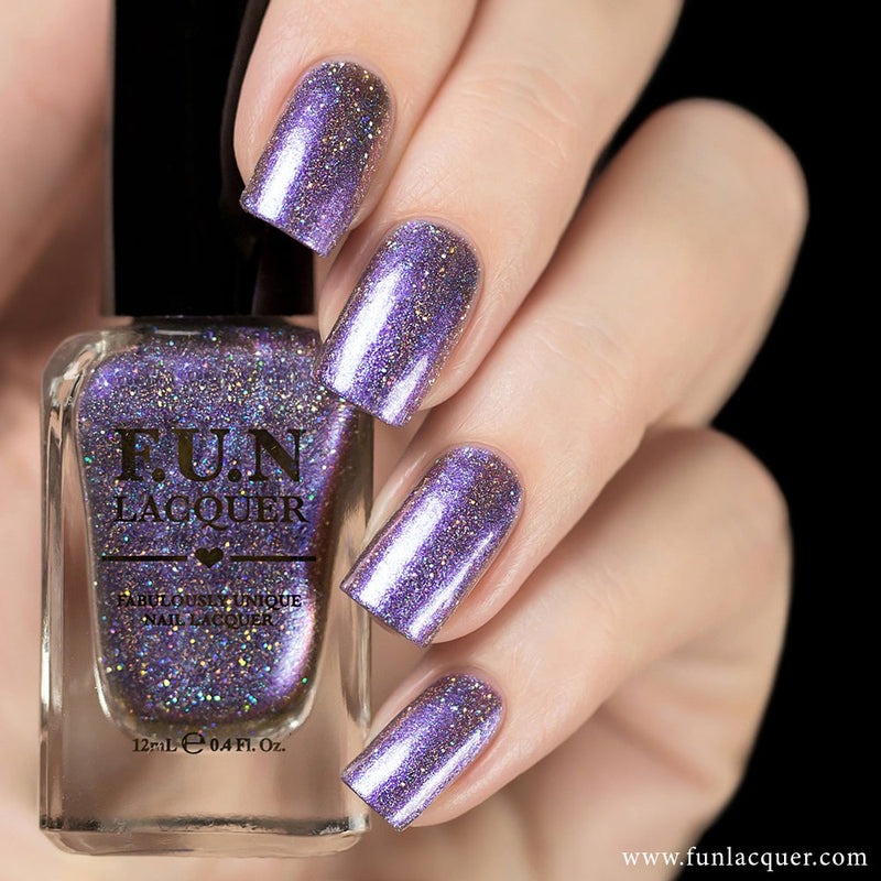 Siberian Squill Metallic Duo-Chrome Holographic Polish
