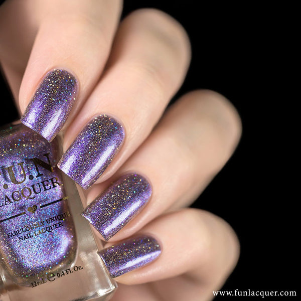 Siberian Squill Metallic Duo-Chrome Holographic Polish 1
