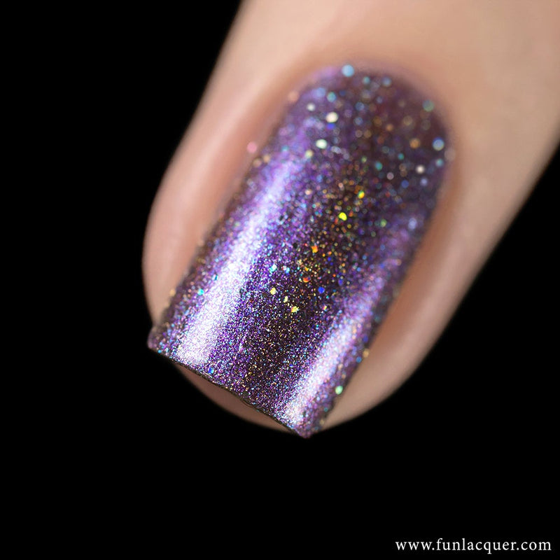 Siberian Squill Metallic Duo-Chrome Holographic Polish 3