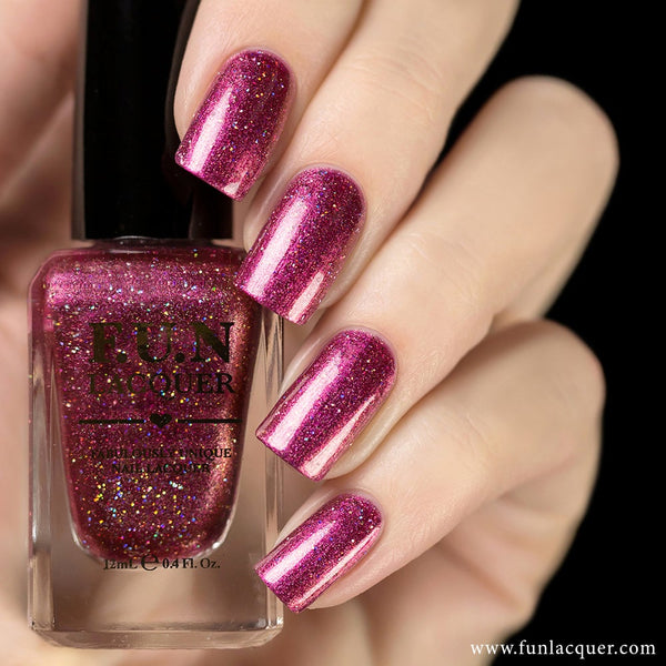 Treasure Me Tulips Duo Chrome Holographic Nail Polish