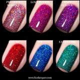 Valentine's 2019 Collection Holo Glitter Nail Polish