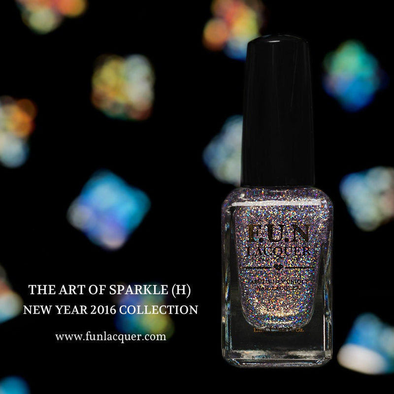 The Art of Sparkle (H) Holographic Glitter Polish