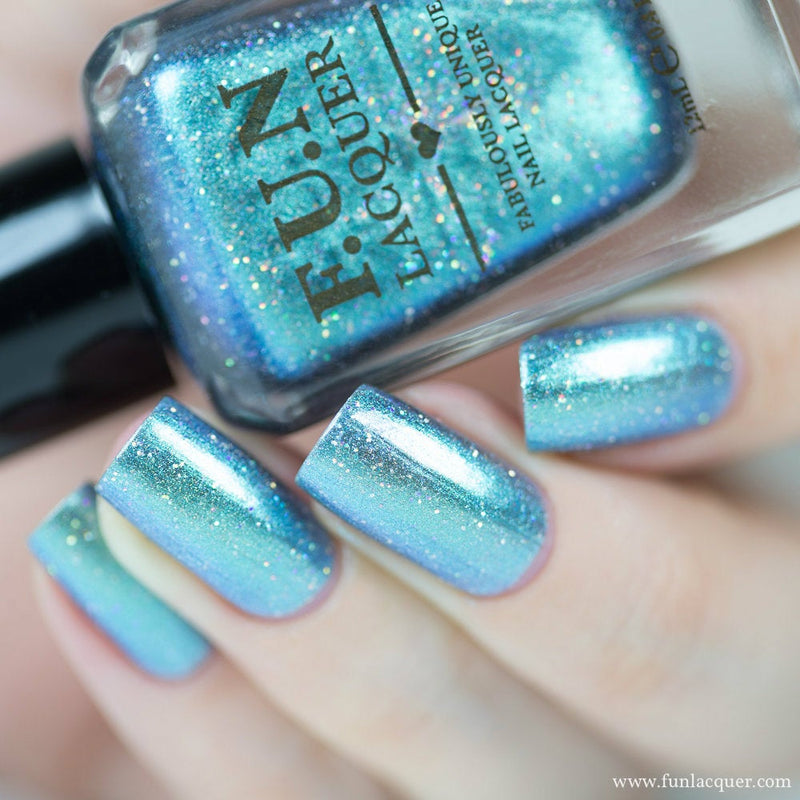 Bachelor's Button Duo-chrome Holo Nail Polish