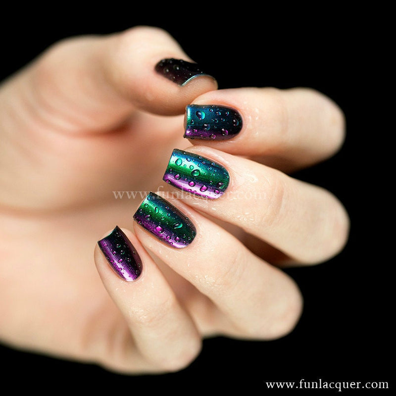 Blessing Green Chrome Color Shifting Nail Polish
