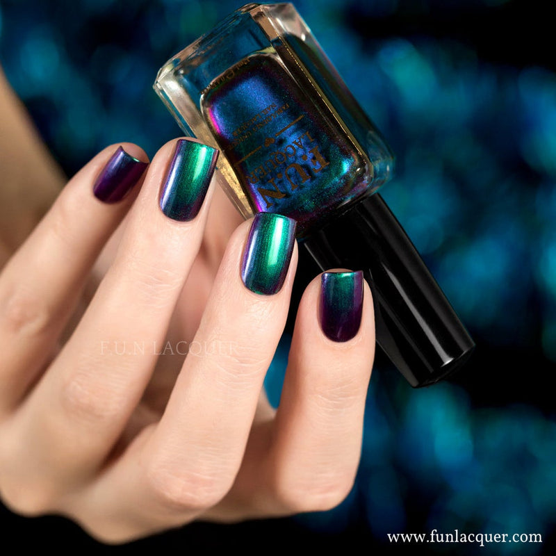 Blessing Green Multichrome Nail Polish