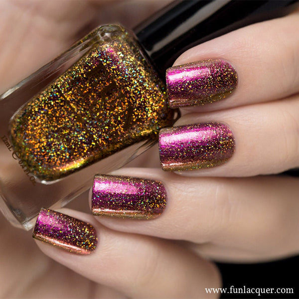 Fun Lacquer Celebrate H Holographic Multi-Chrome 3