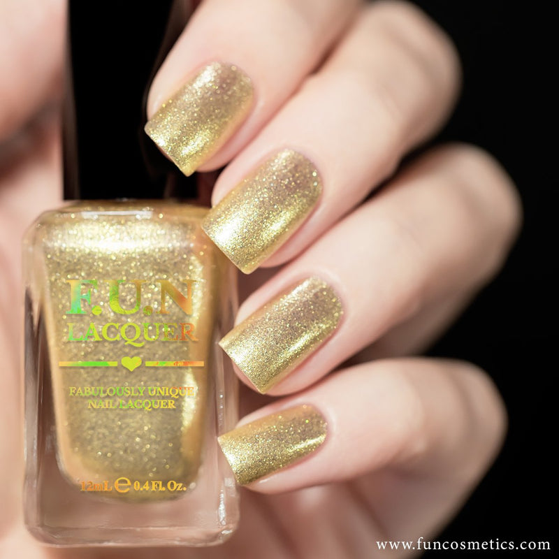 Heart Of Gold 003 Nail Polish Color Shifting Shimmer