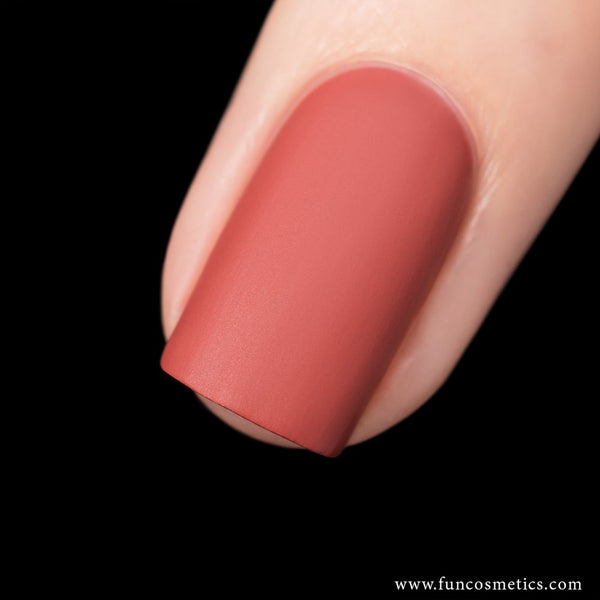 First Choice 317 Nude Velvet Matte Nail Polish