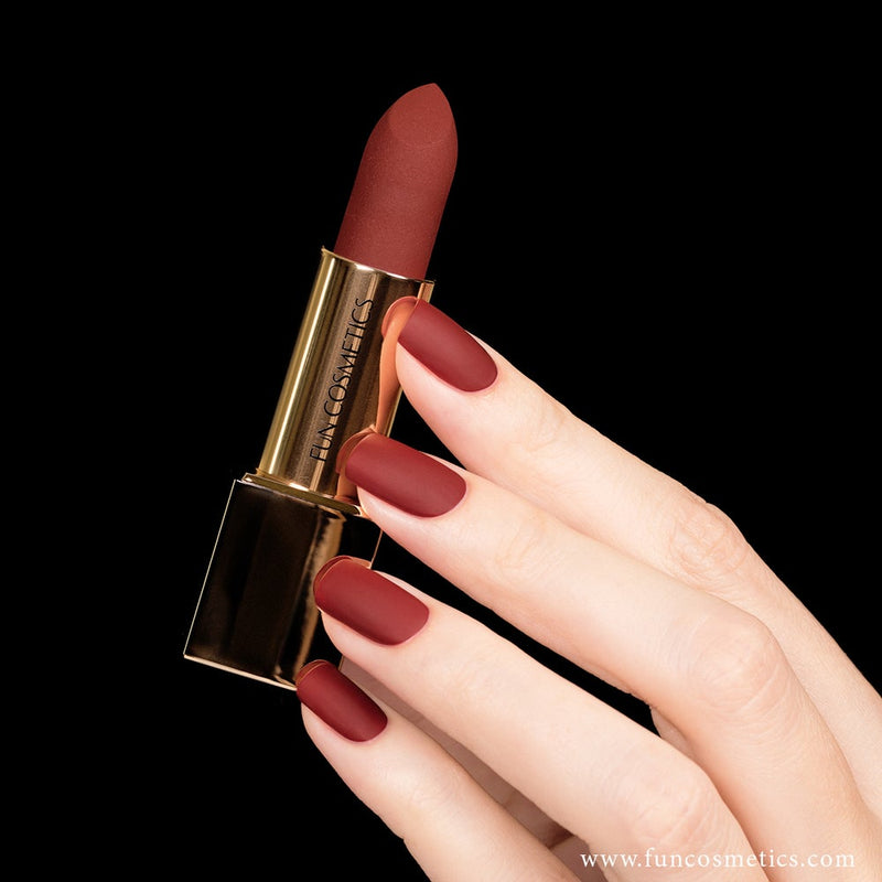 Passion 461 Red Blood Matte Nail Polish and Lipstick