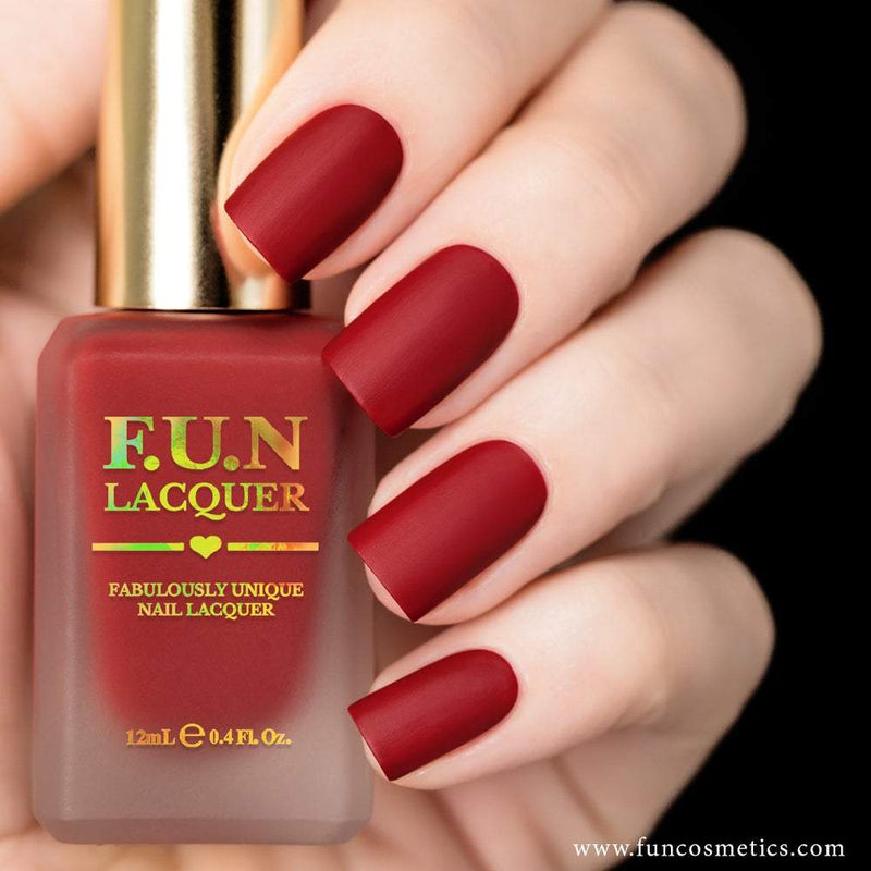 Fashionista 958 Matching Red Nail Polish