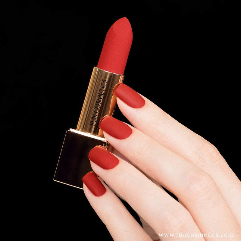 Classic 959 Red Velvet Matte Lipstick and Nail Polish  4