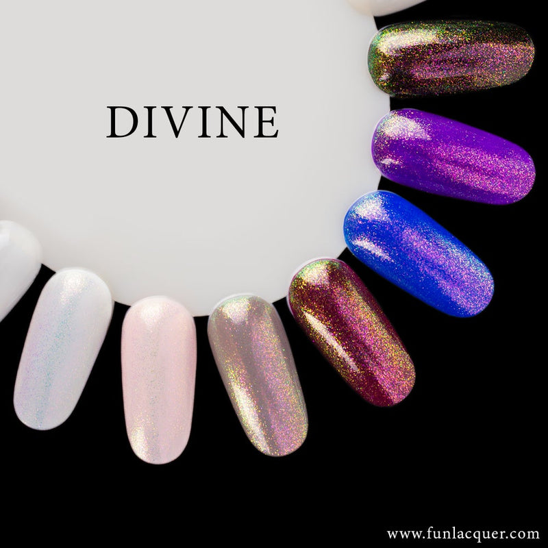 Divine Color Shifting Unicorn Long Lasting Top Coat