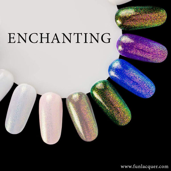 Enchanting Color Shifting Iridescent Unicorn Top Coat