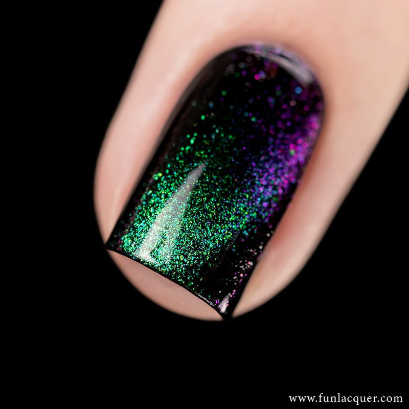 Gorgeous Multichrome Magnetic Flakie Galaxy Nail Polish