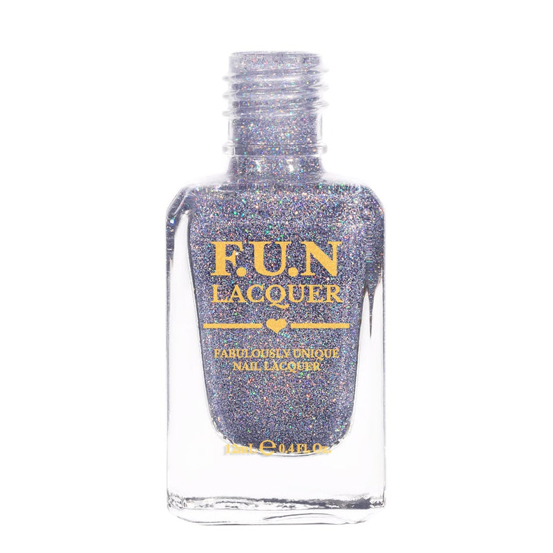 Ice Queen Purple Lavender Holo Glitter Nail Polish