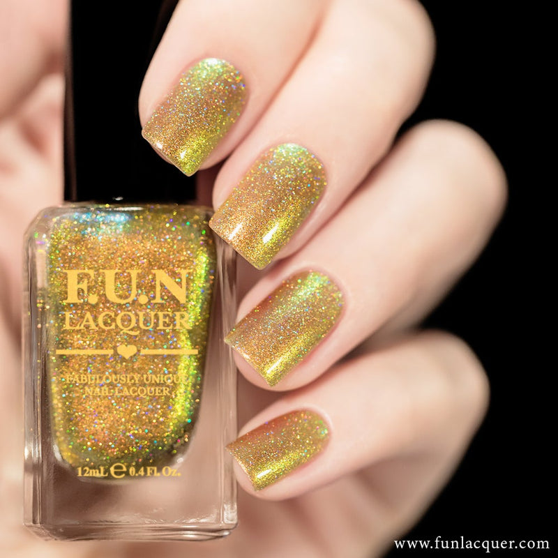 Beetle (H) Color Shifting Holographic Nail Polish