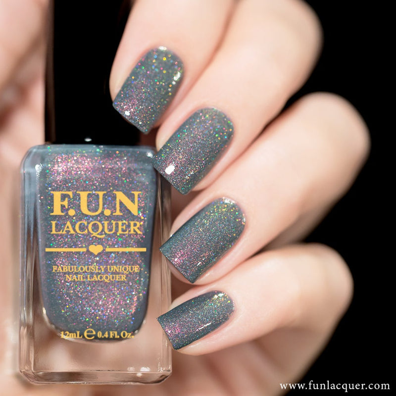 Foggy Holographic Nail Polish