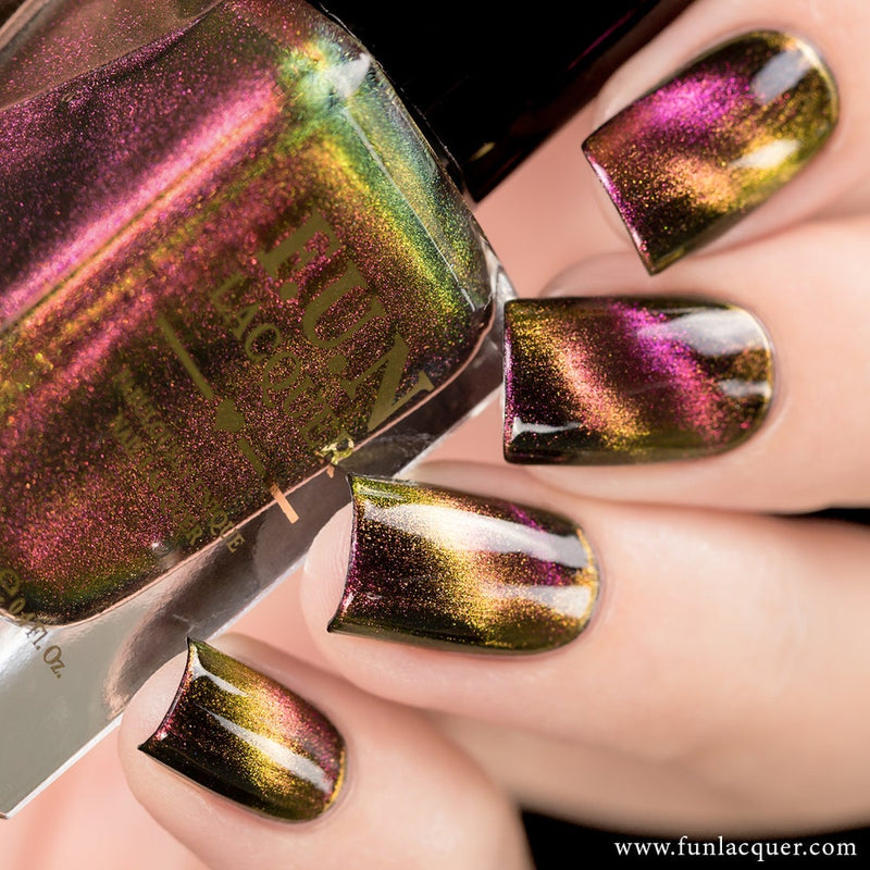 Incredible Multi-chrome Magnetic Cat Eye Nail Polish