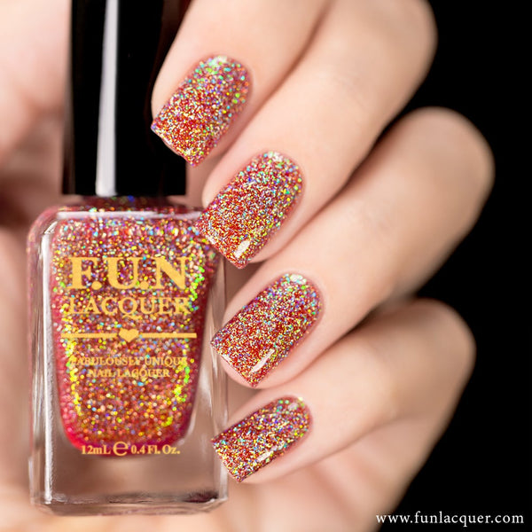 Jingle Bells (H) Color Shifting Holo Nail Polish