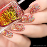 Jingle Bells (H) Red Color Shifting Holo Nail Polish