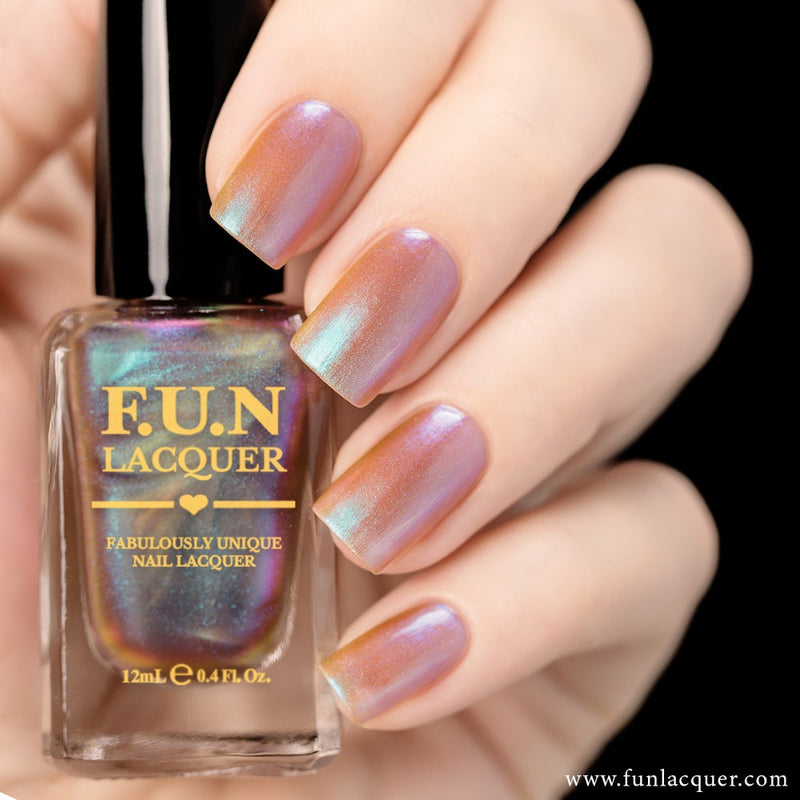 Lavender Color Shifting Iridescent Nail Polish