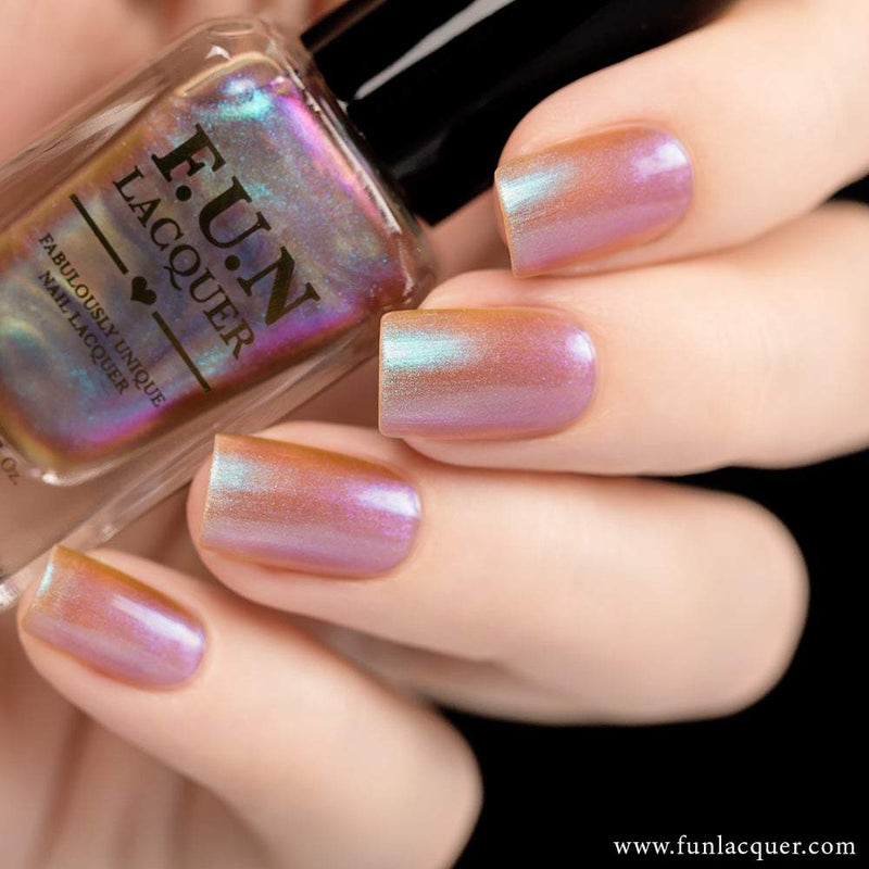 Lavender Best Purple Color Shifting Iridescent Nail Polish