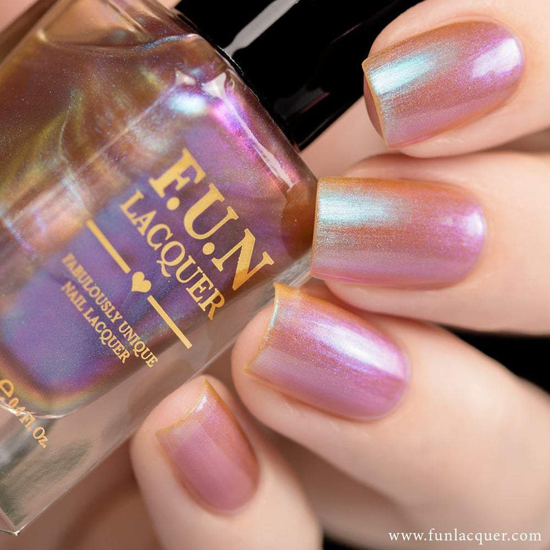 Lavender Purple Color Shifting Iridescent Nail Polish