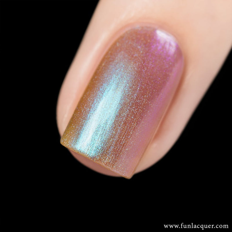 Lavender Best Purple Color Shifting Iridescent Long Lasting Nail Polish