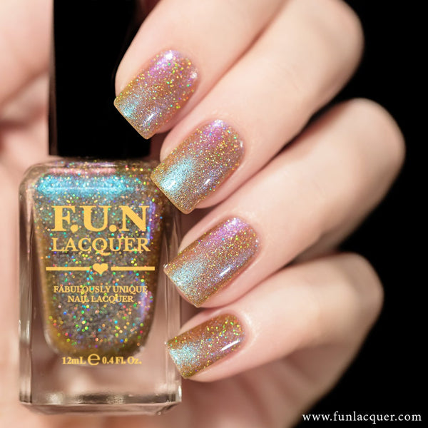 Lavender (H) Color Shifting Holographic Nail Polish