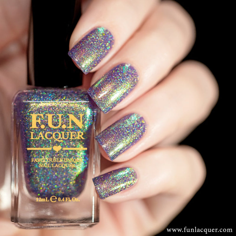 Lollipop Color Shifting Holographic Nail Polish