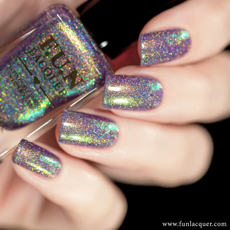 Lollipop Unicorn Color Shifting Holographic Nail Polish